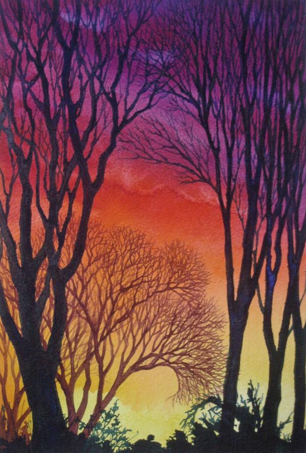 Sunset Lace III by Helen R Klebesadel