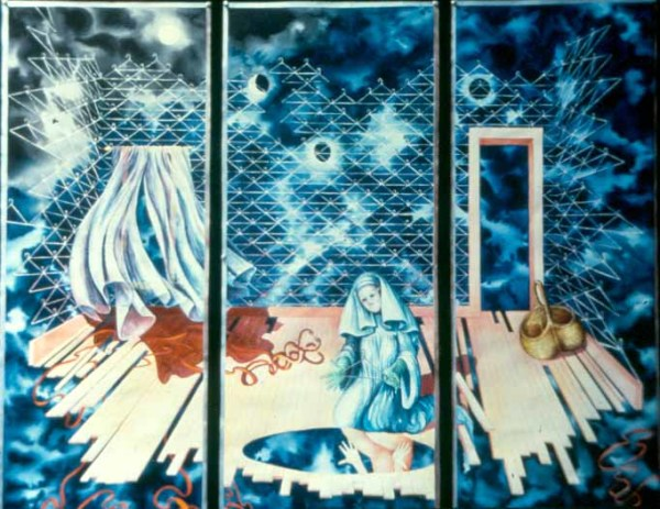 Small Powers of Consequence or the Annunciation triptych by Helen R Klebesadel