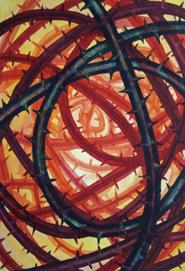 Thorn Study I by Helen R Klebesadel