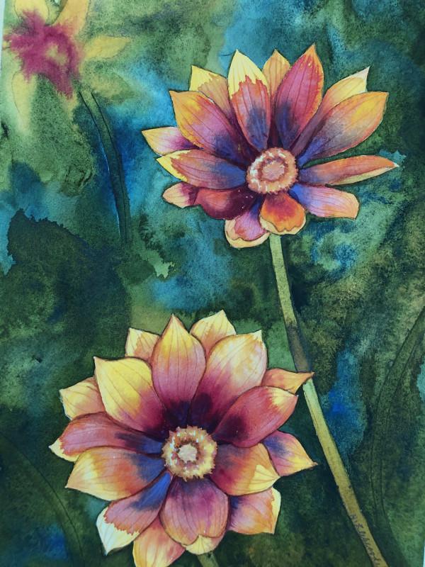 Treasure Flowers II by Helen R Klebesadel