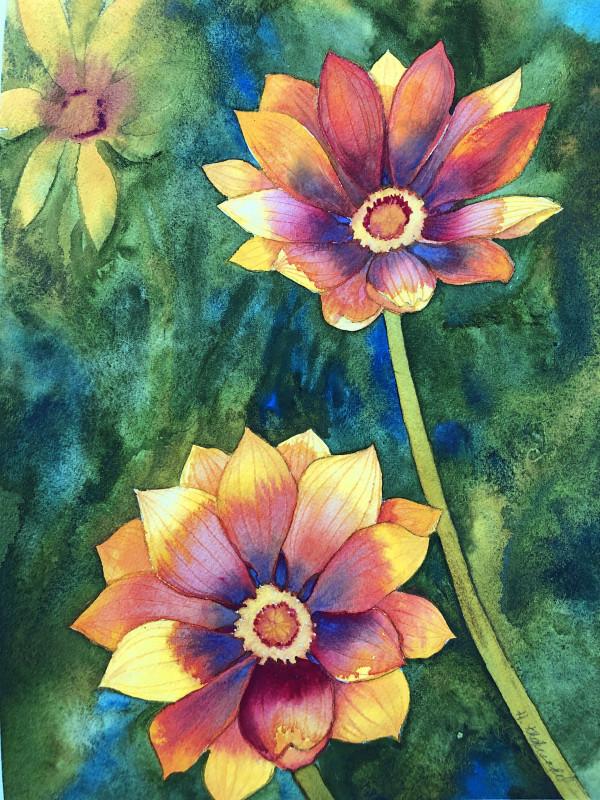 Treasure Flowers I by Helen R Klebesadel