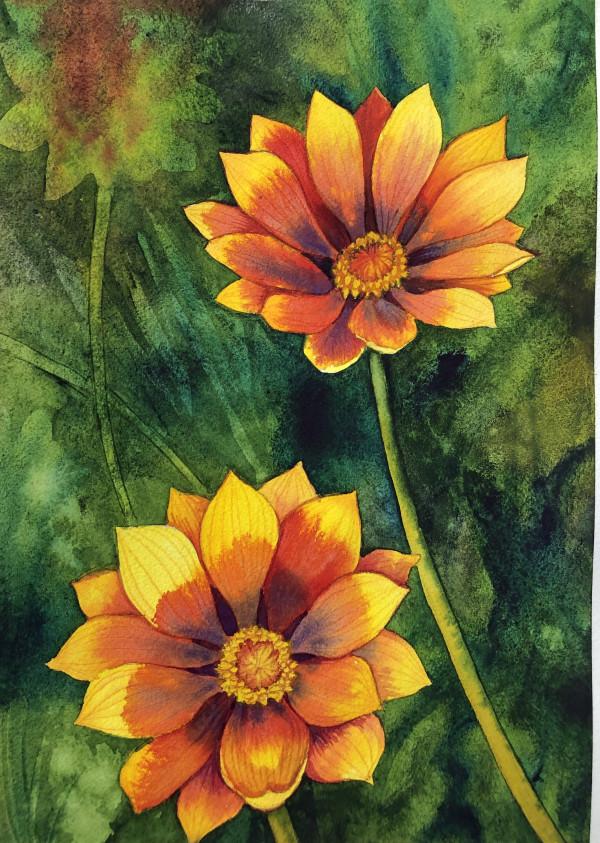 Treasure Flowers III by Helen R Klebesadel