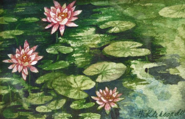 Water Lilies, 30 of 33 by Helen R Klebesadel