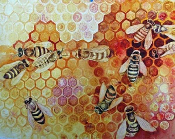 Save The Bees by Helen R Klebesadel