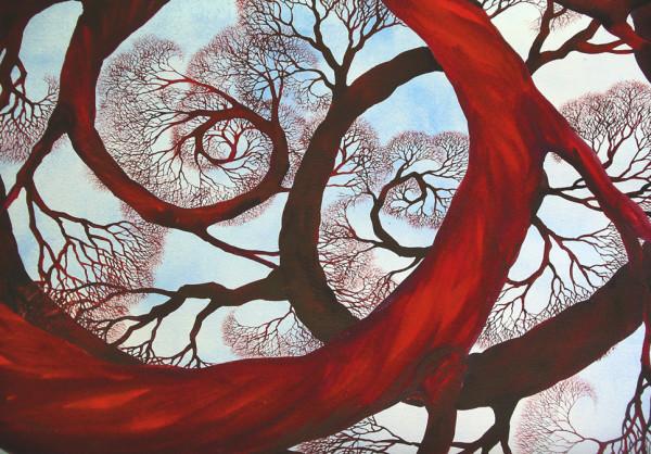 Spiral In, Spiral Out by Helen R Klebesadel