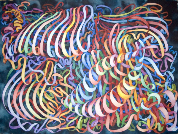 Organized Chaos, Ribbons by Helen R Klebesadel