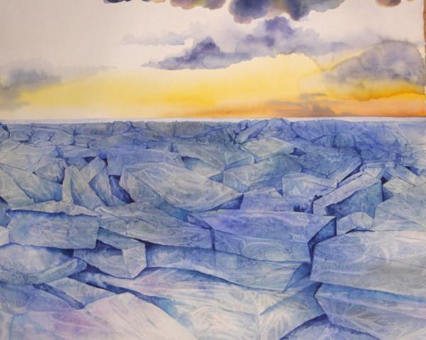 Winter's Warning by Helen R Klebesadel