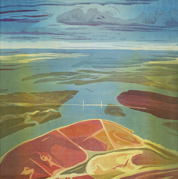 Daniel Island Nocturne (SC) by Mary Edna Fraser