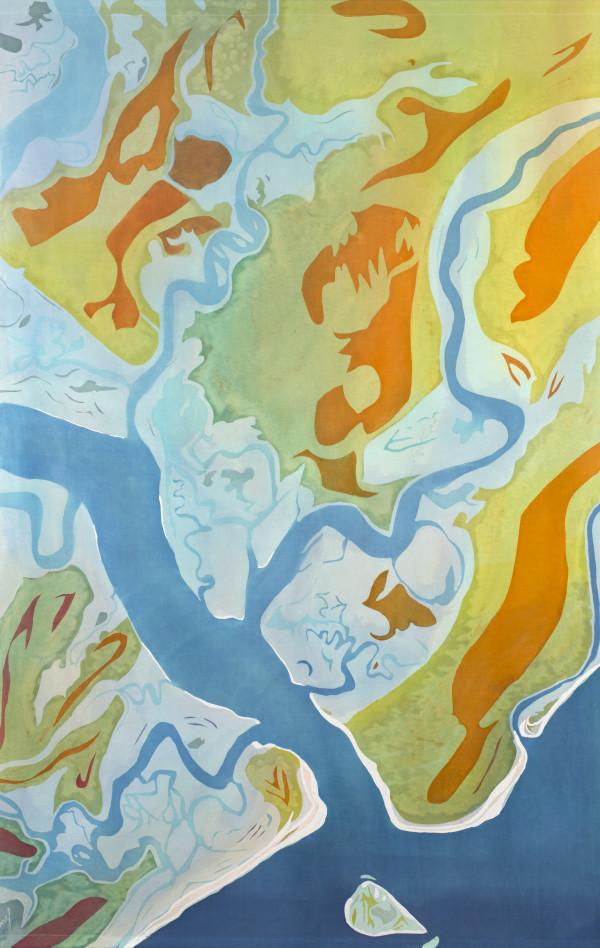 Ledenwah Creek (SC) by Mary Edna Fraser