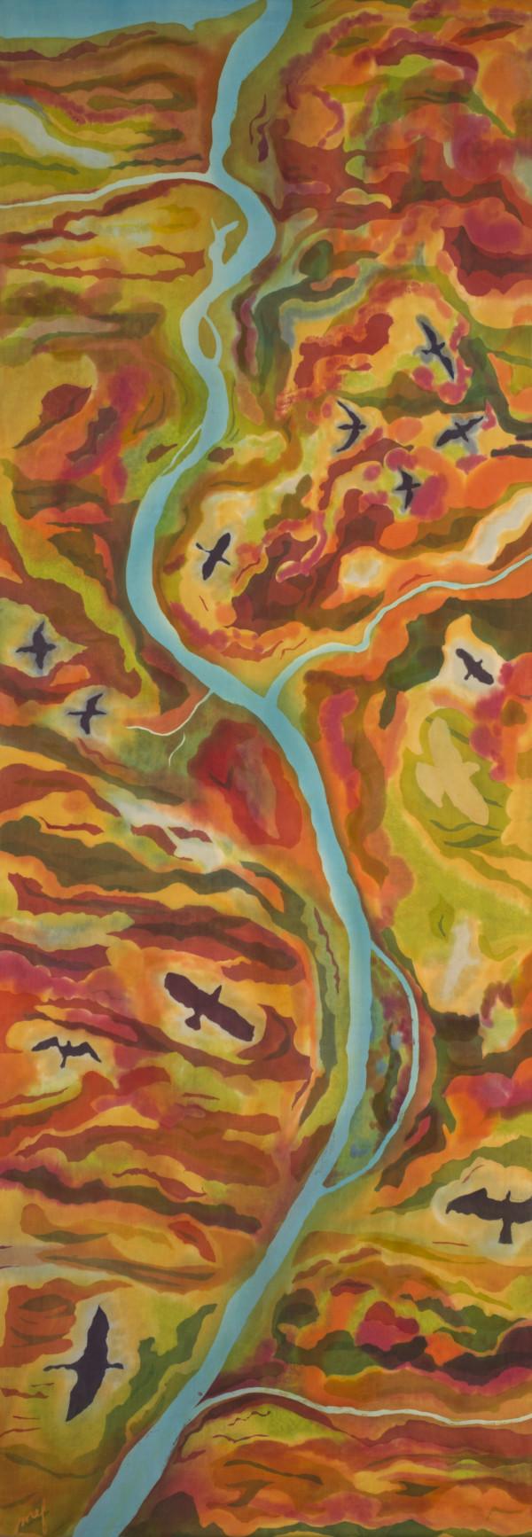 Lower Saluda River by Mary Edna Fraser