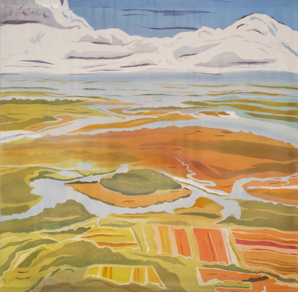 Over Wadmalaw (SC) by Mary Edna Fraser