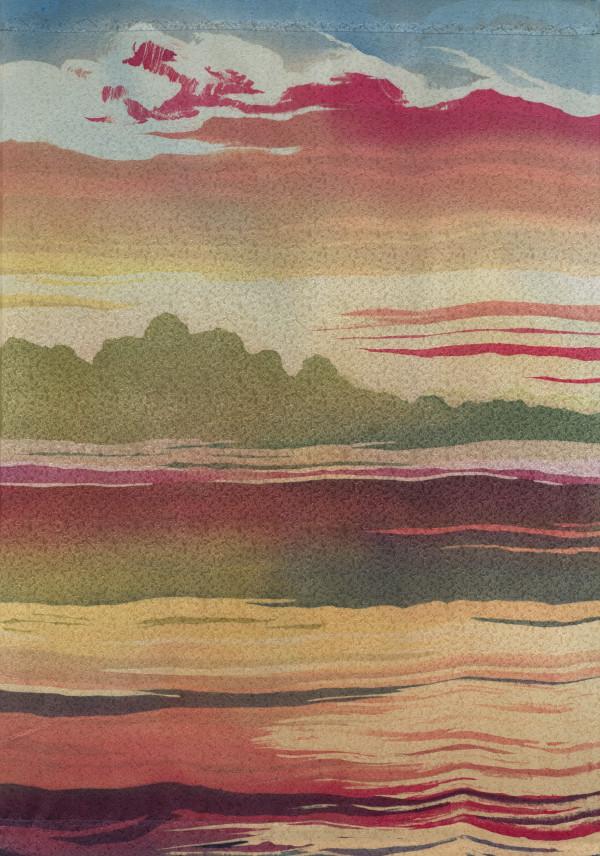 Red Sky by Mary Edna Fraser