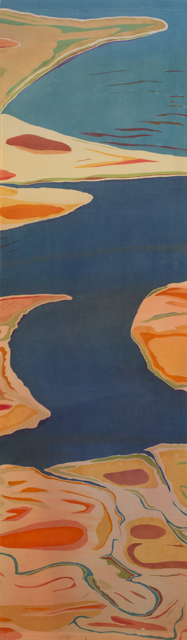 Sacred Waterway II(diptych) by Mary Edna Fraser