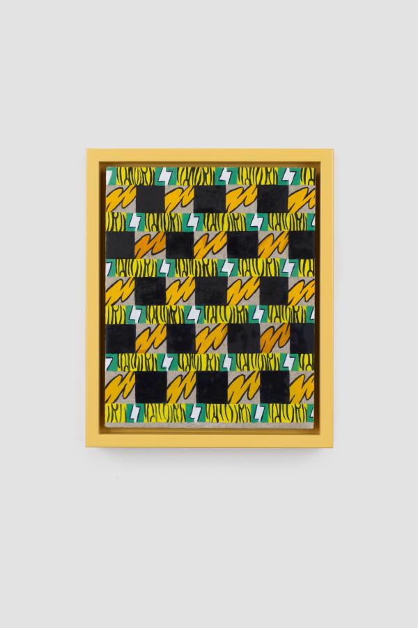 Pattern Painting (Mum) by Jeffrey Hallbauer