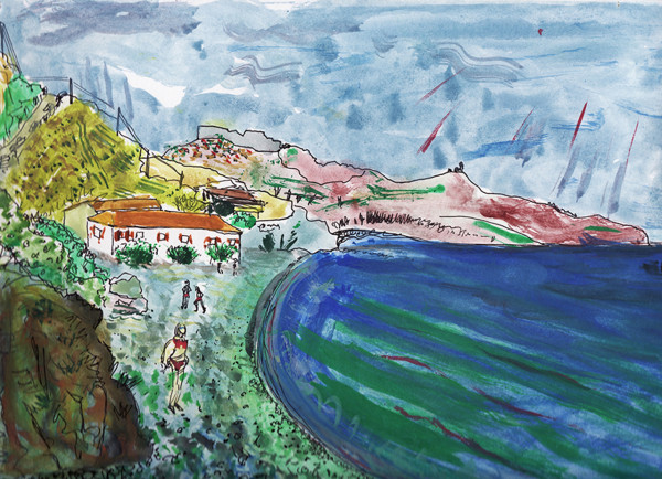 In Lesvos (2006) by Caley O'Dwyer