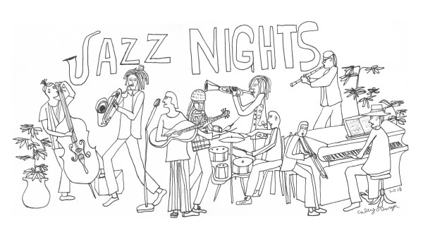 JAZZ NIGHTS (2018) by Caley O'Dwyer