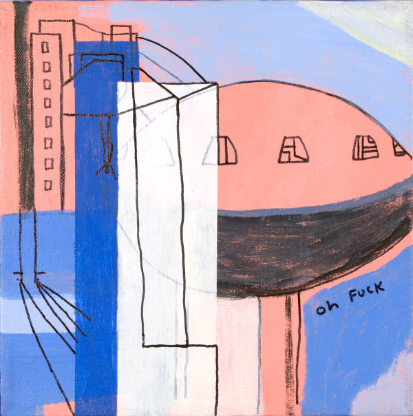 THE CITY CAN BE DIFFICULT (2016) by Caley O'Dwyer