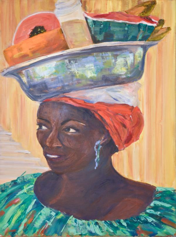 Fruit Seller by Yolanda Velasquez