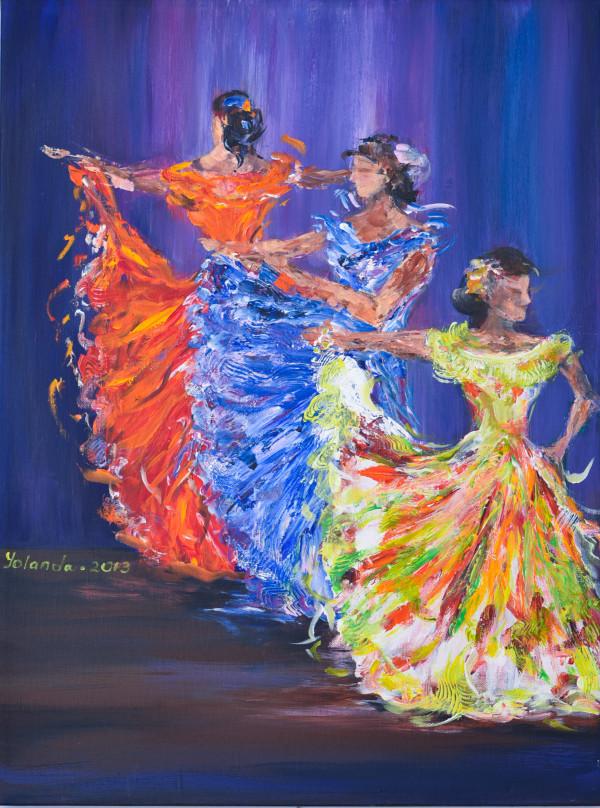 Dancers by Yolanda Velasquez