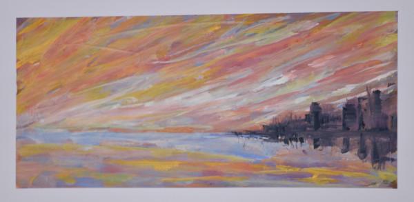 Sunset in Perth by Yolanda Velasquez