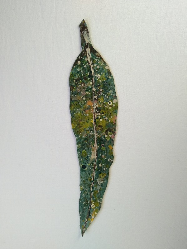 Gum Leaf - Little .. (19086) by Liz McAuliffe
