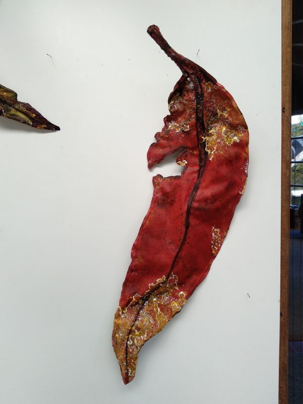 Gum Leaf .. Large .. (19156) by Liz McAuliffe