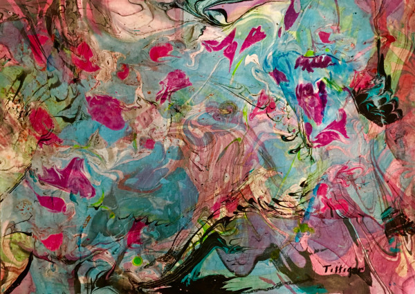 FLOATING PETALS by Colleen Tittiger