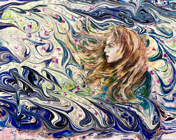 IN THE WIND by Colleen Tittiger