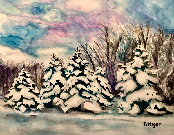 WINTER'S PEACE by Colleen Tittiger