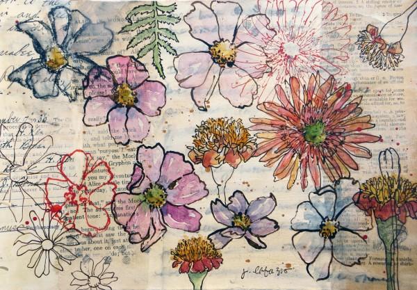 Frida's Bouquet by Jane LaFazio