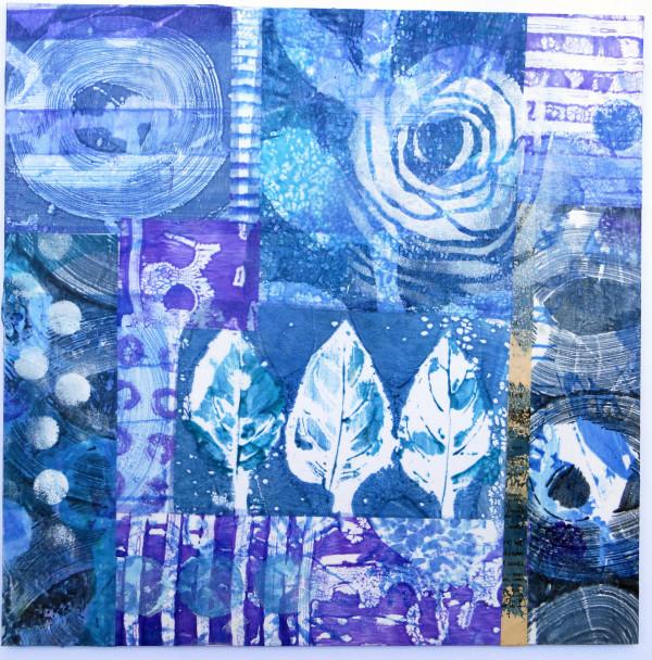 Blue Leaves by Jane LaFazio