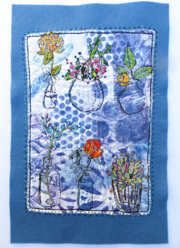 Flowers in the Window by Jane LaFazio