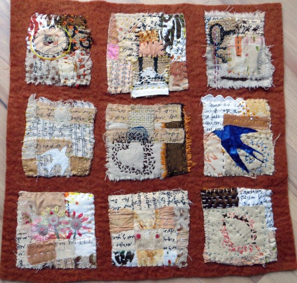 Text on Textiles: I remember that summer by Jane LaFazio
