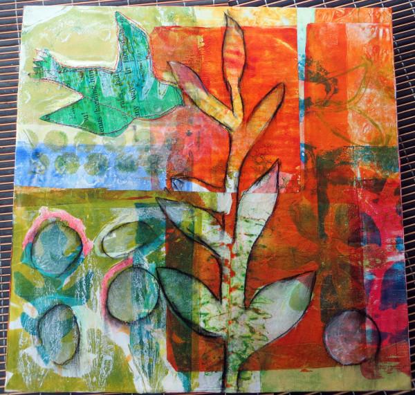 Green Bird by Jane LaFazio