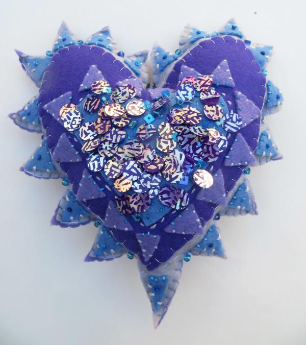 Milagro (Blue) by Jane LaFazio