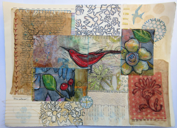 Late Summer Garden by Jane LaFazio