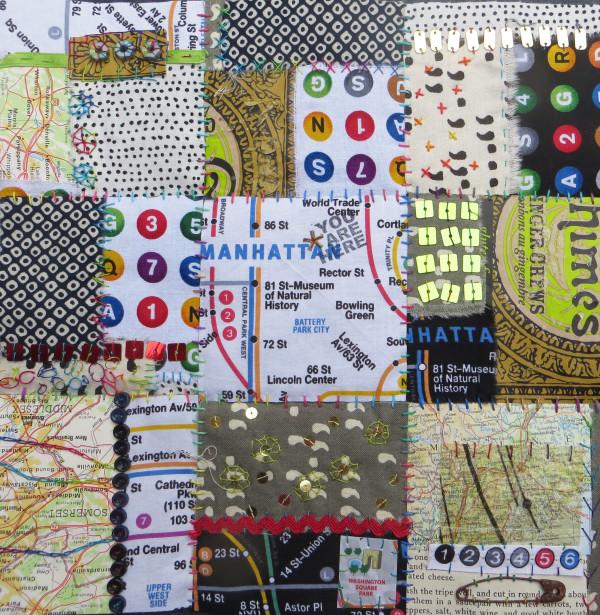 City Blocks: Manhattan  by Jane LaFazio