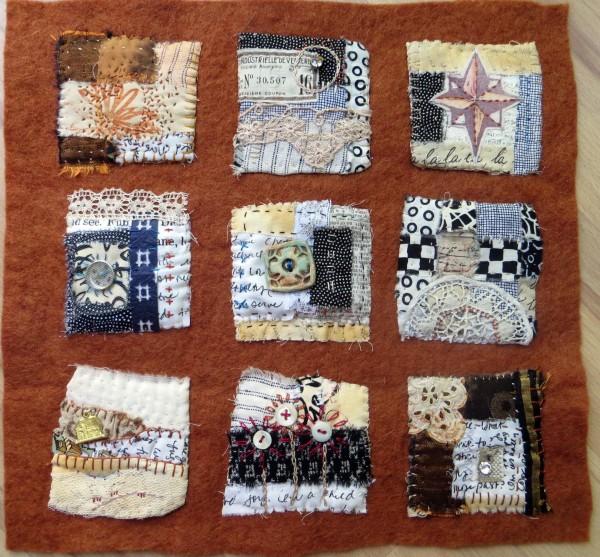 Text on Textiles: Passport by Jane LaFazio