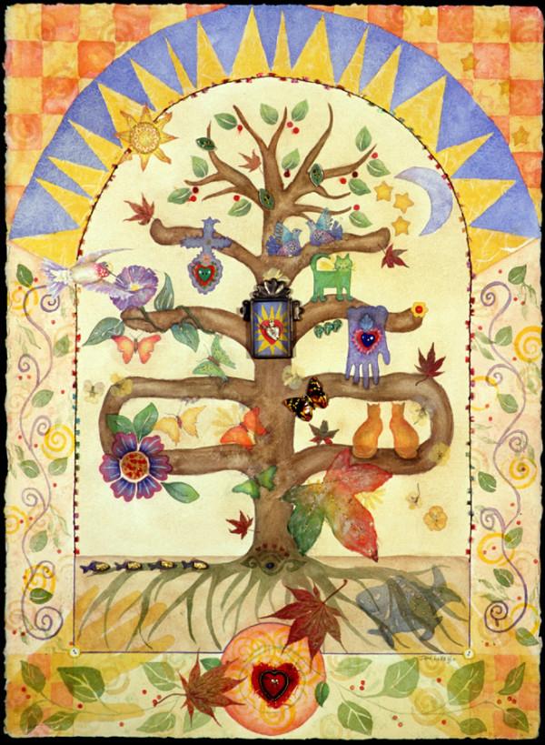 Tree of Life ~ Guadalupe by Jane LaFazio