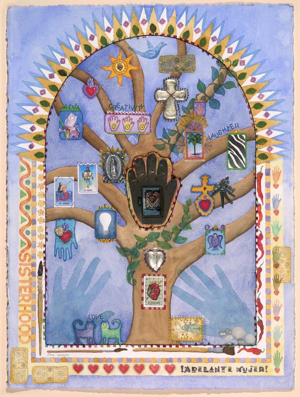 Tree of Life ~ Heart in Hand by Jane LaFazio