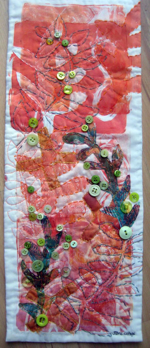 Green Button Bush by Jane LaFazio