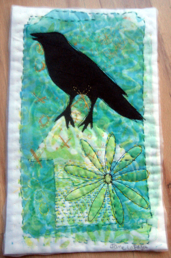 Green House Crow by Jane LaFazio