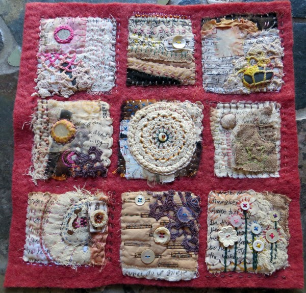 Text on Textiles: Memories of Loss by Jane LaFazio