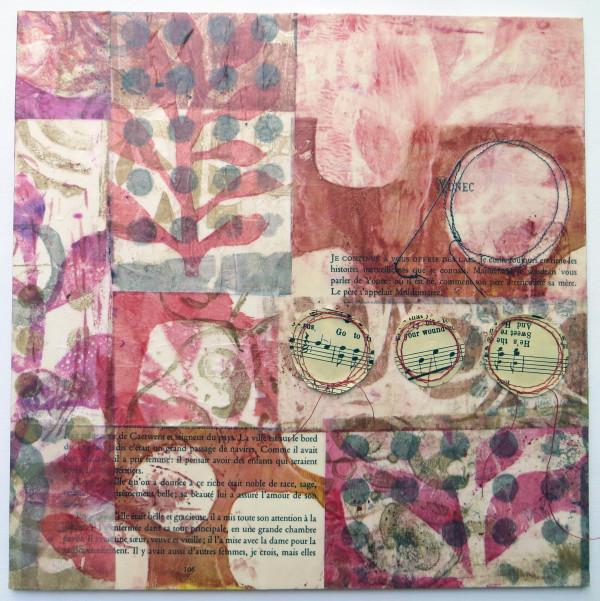 Pink Polka by Jane LaFazio