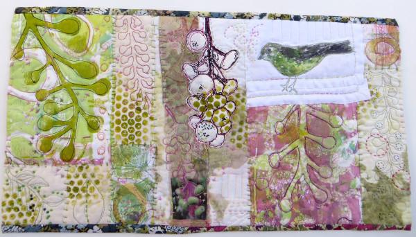 Poke Salad Annie Series ~ Green Bird by Jane LaFazio