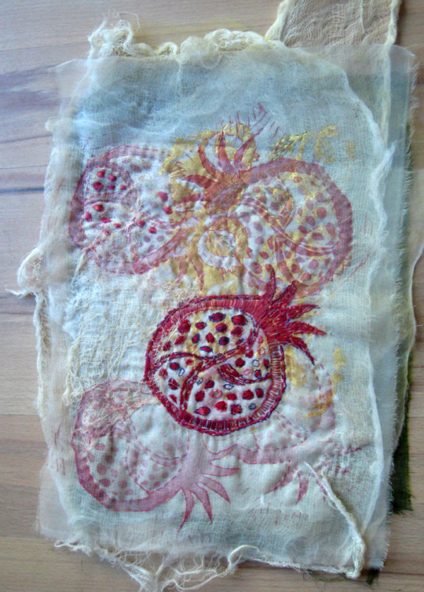 Pomegranate  Past ~ shroud series by Jane LaFazio