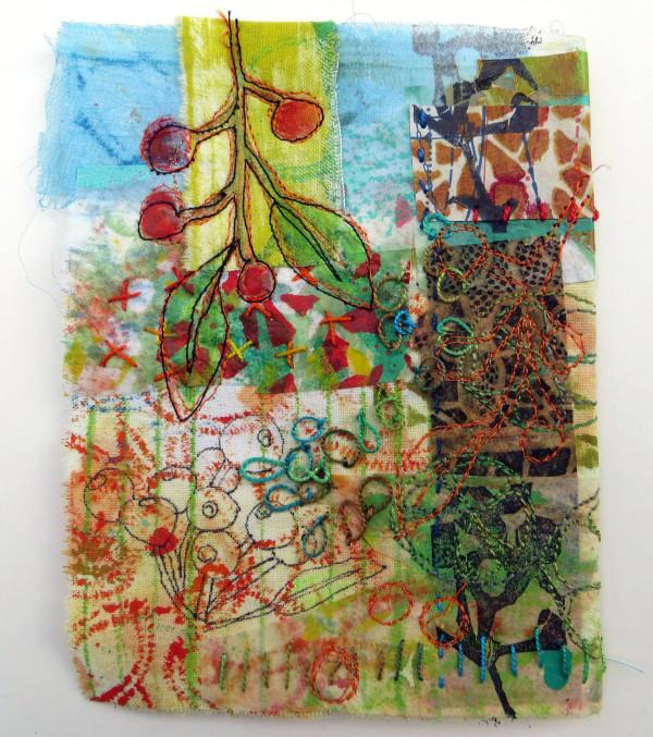 Red Berries Burano by Jane LaFazio