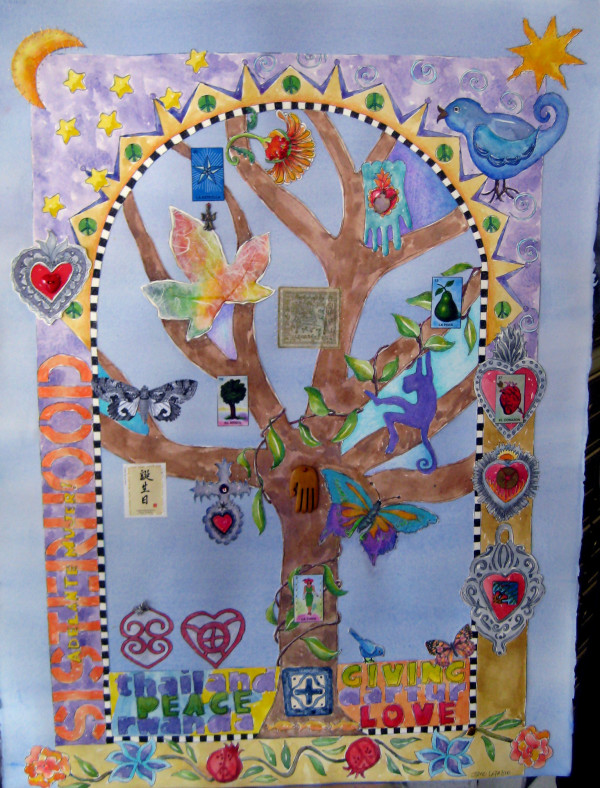 Tree of Life ~ commission by Jane LaFazio