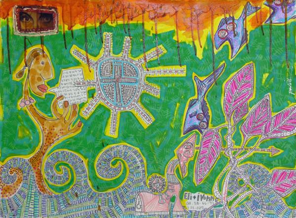 Painting 5295 by Dougie Padilla