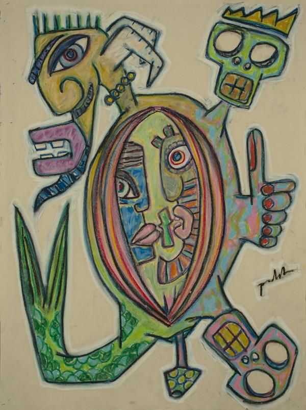 Los Conversation by Dougie Padilla